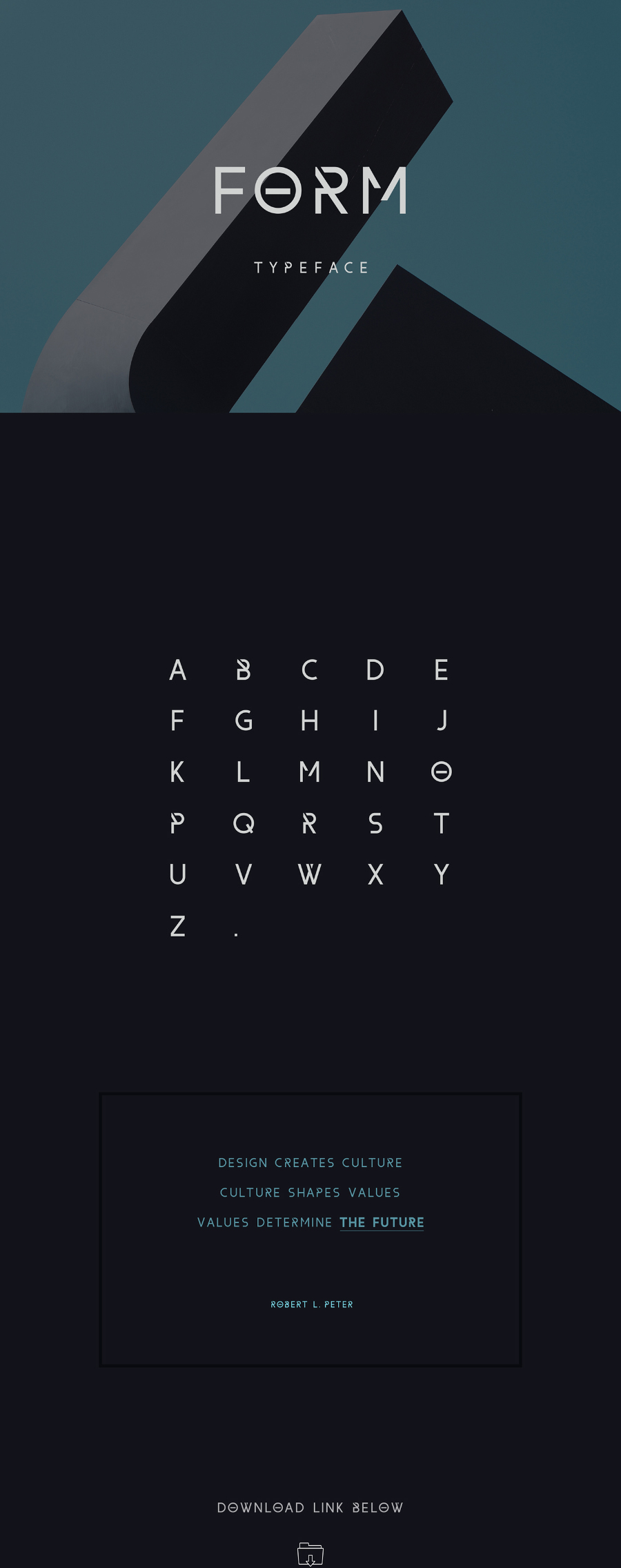Form Display Free Typeface