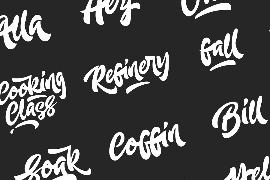 Aldeit Brush Script Free Demo