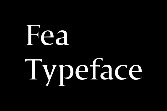 Fea Humanist Serif Free Typeface