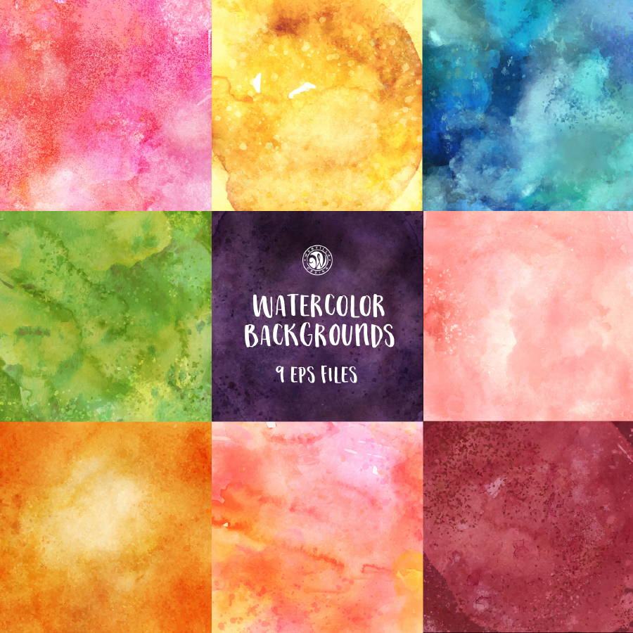 Free Vector Watercolor Backgrounds