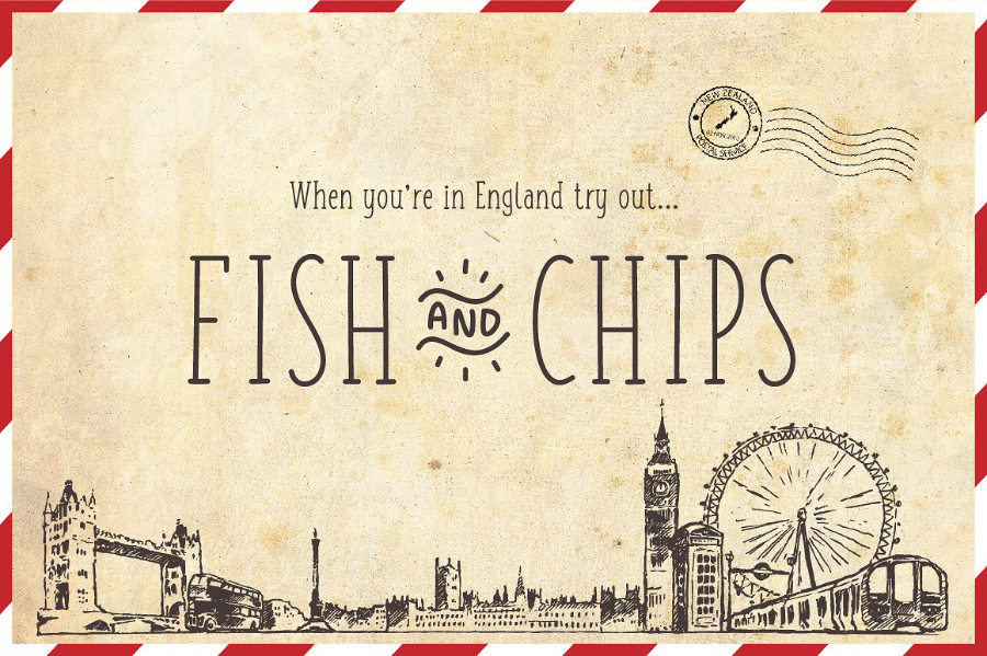Fish and Chips Free Serif Typeface