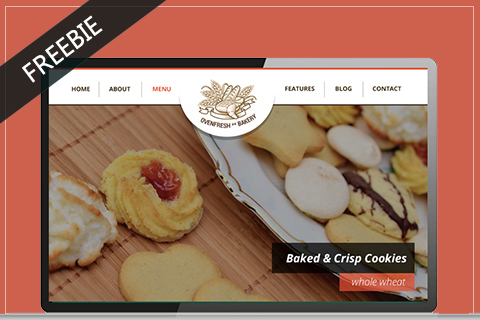 Bakery Free PSD Template