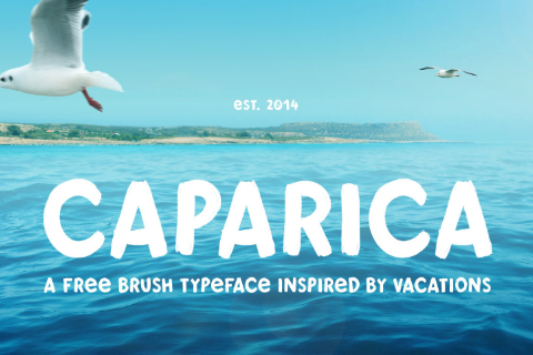 Caparica Brush Free Typeface