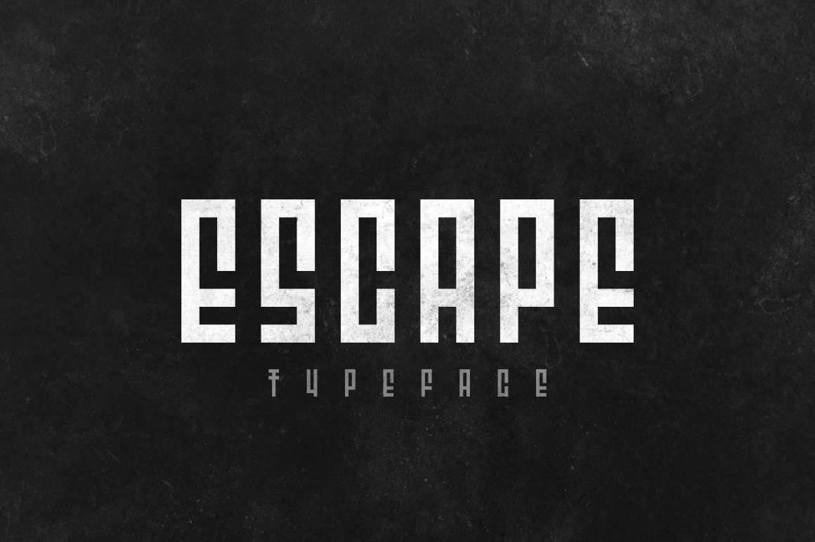 Escape Free Display Typeface