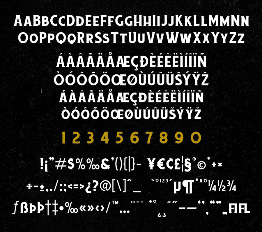Chuck Noon 2 Free Typeface