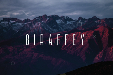Giraffey Display Free Typeface