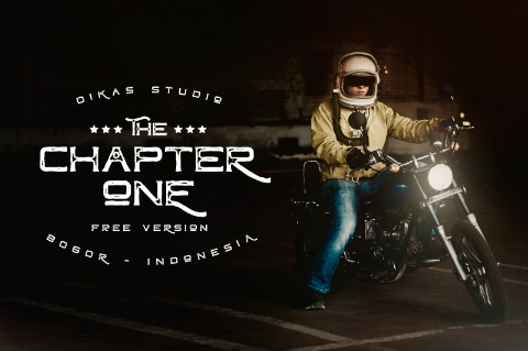 Chapter One Typeface Free Version