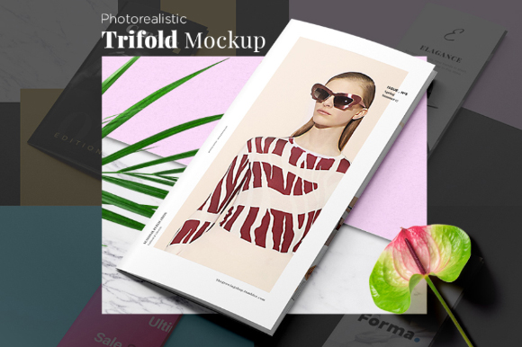 Fashion Trifold Mockup Sample