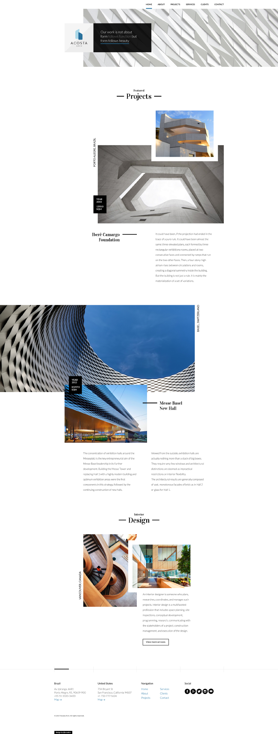 Architecture Design Template architecture free psd template - free design resources