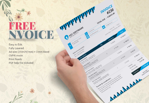 Free Fresh Invoice Template