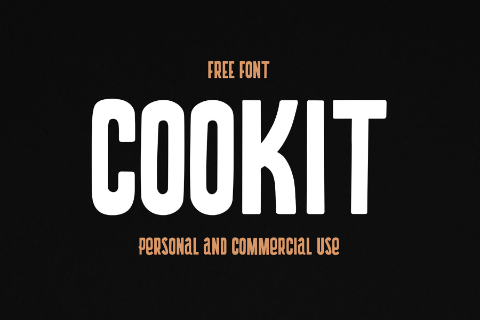 Cookit Display Free Typeface