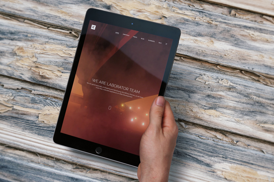 Free iPad Air PSD Mockup