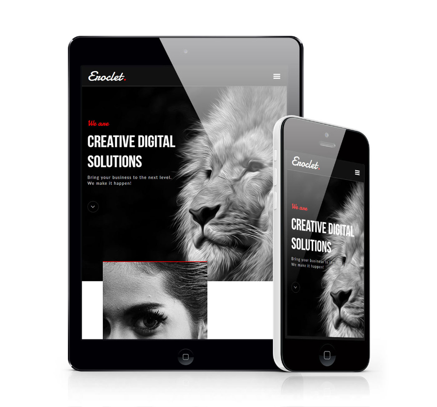 Eroclet Creative Muse Template