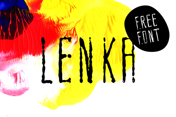 Lenka Brush Free Typeface