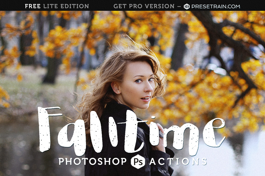 Falltime Free Photoshop Action