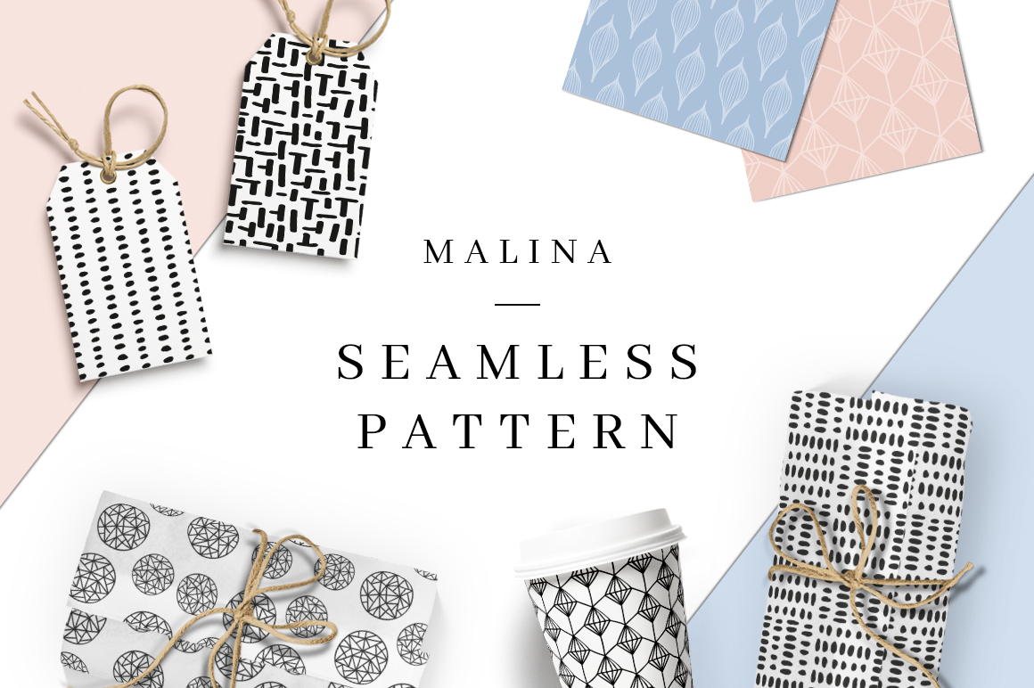 Malina Free Seamless Patterns