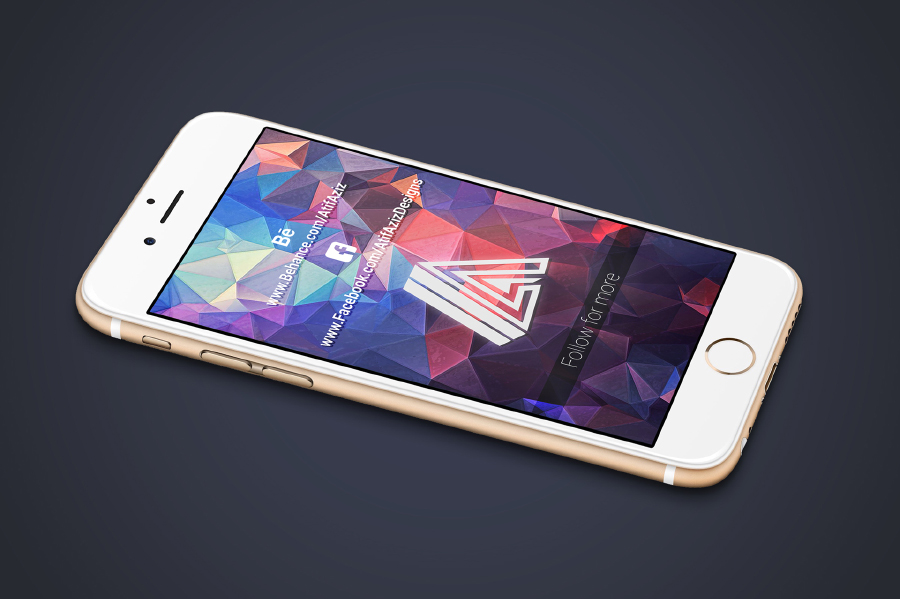 7 Free PSD iPhone Mockups
