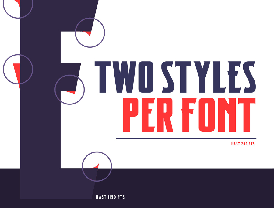 Mast Display Free Typeface