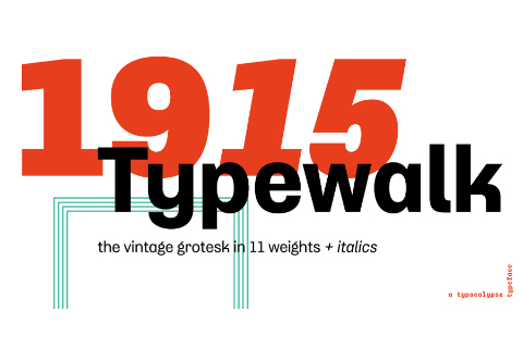 Typewalk 1915 Free Demo