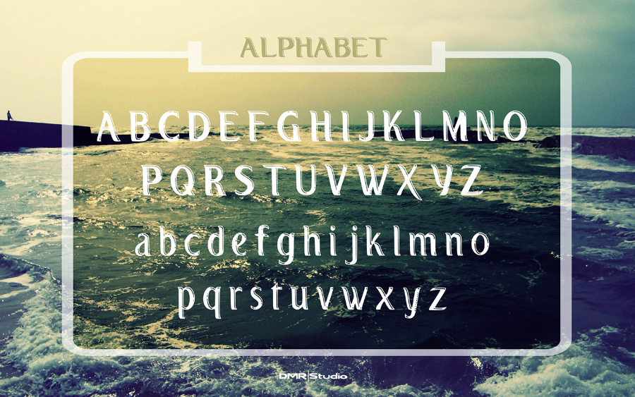 LaPontane Display Free Typeface