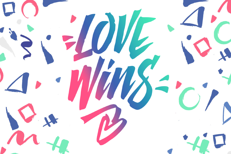 Lovewins Free Lettering Collection