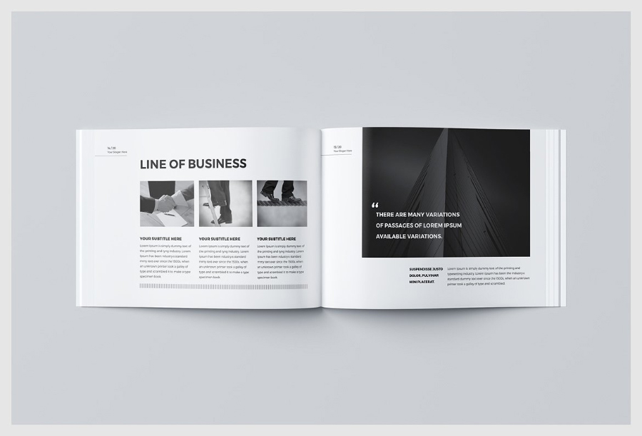 Free Business Brochure Template