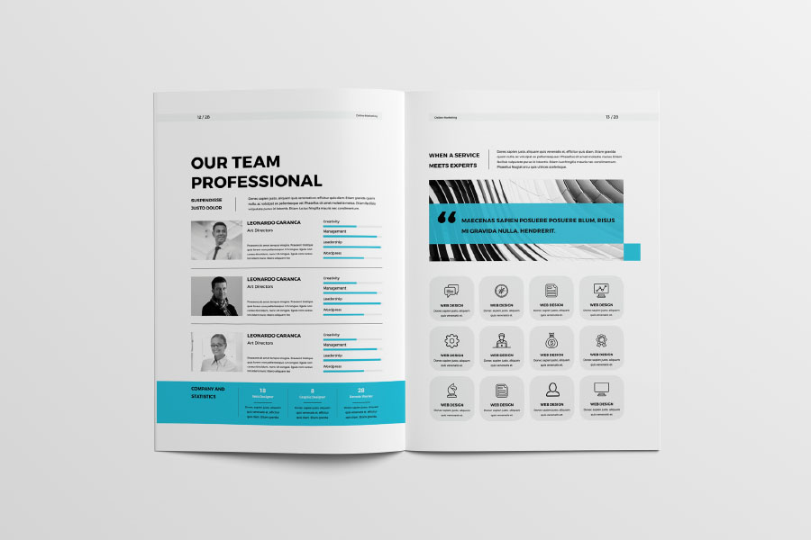 Free Professional Proposal Template Free Design Resources