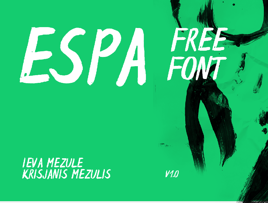 Espa Brush Free Typeface
