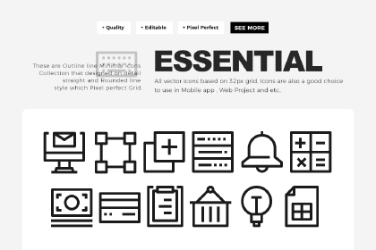 500 Essential Icons Collection