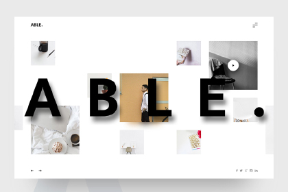 ABLE Free PSD Template
