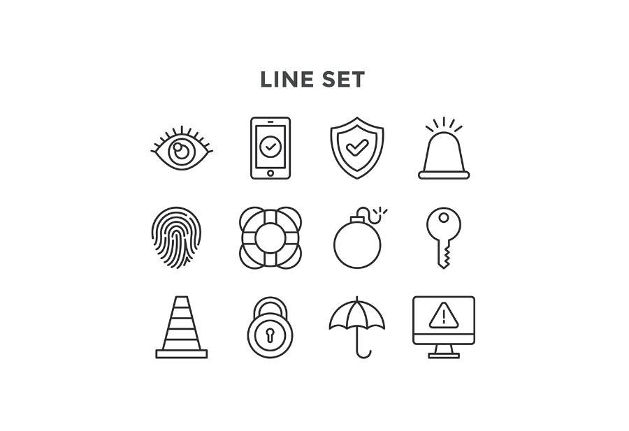 Free Vector Security Icons