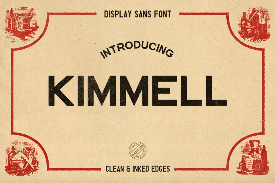 Kimmel Display Sans Free Font