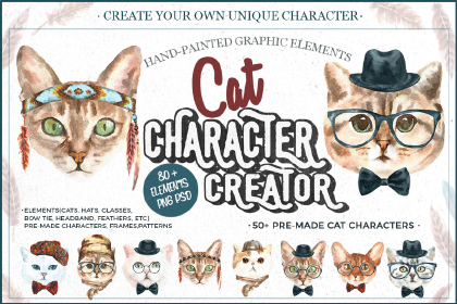 Cats Characters Creator Demo