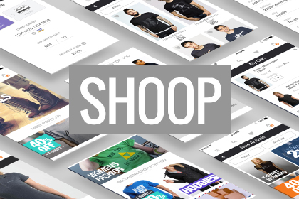 Shoop Ecommerce Free UI Kit