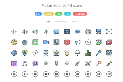Pioneer Icons Free Demo Pack