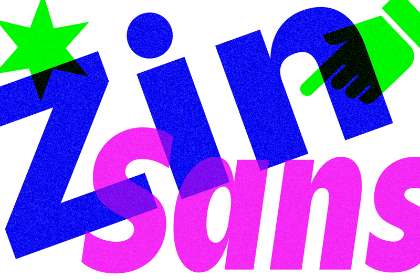 Zin Sans Family Free Demo