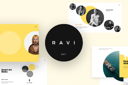 Ravi Presentation Template Free Demo