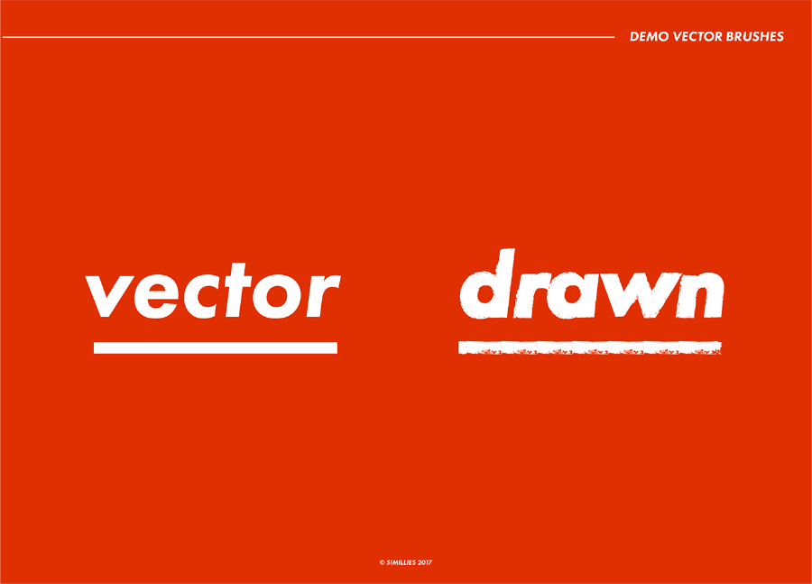 6 Demo Vector Brushes