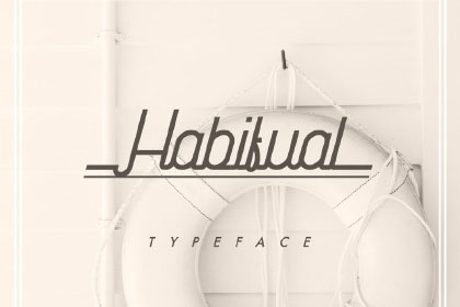 Habitual Digital Handwriting Typeface