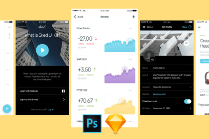Sked UI Kit Free Sample