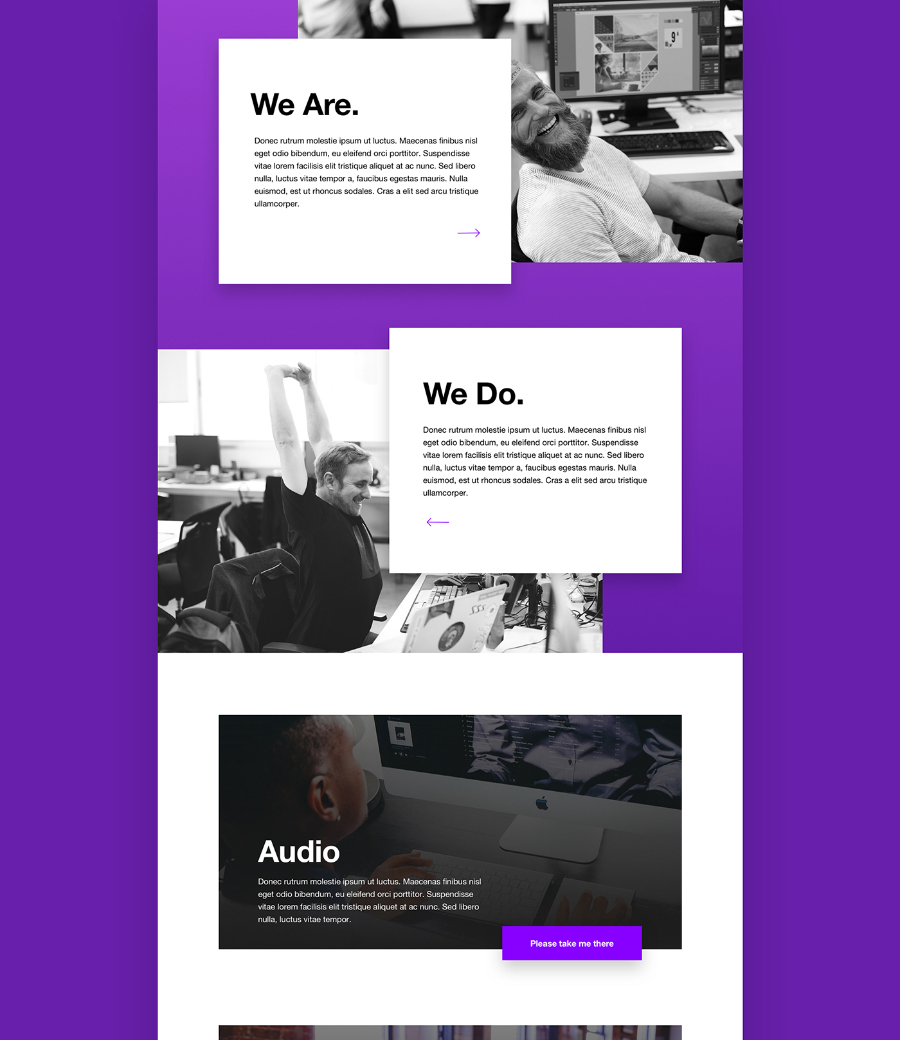 Startup One Page Sketch Template