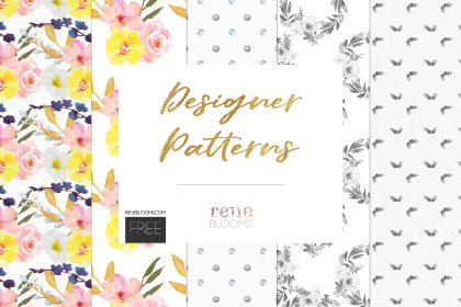 Classic Watercolor Floral Patterns