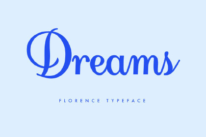 Florence Script Free Typeface