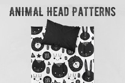 Animal Head Free Pattern