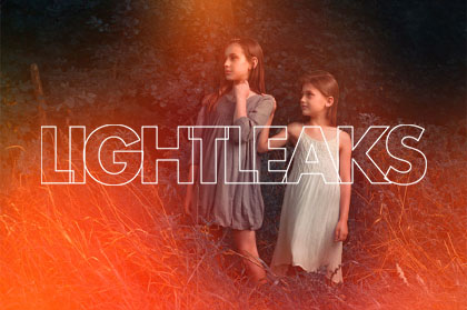 Free Light Leaks Photoshop Action