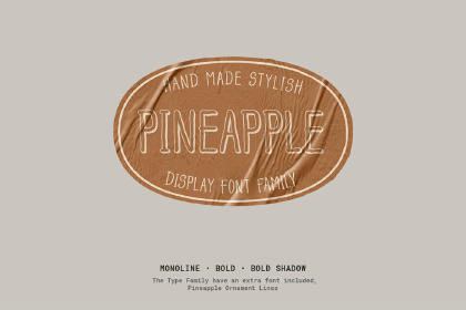 Pineapple Typefamily Free Demo