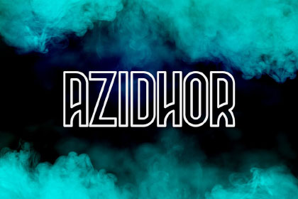 Azidhor Display Free Typeface