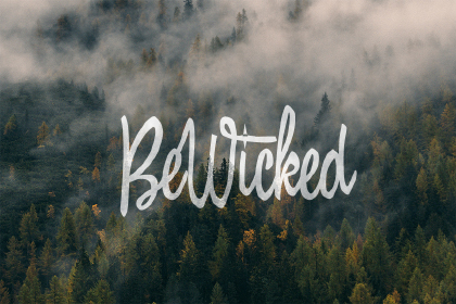 BeWicked Free Font