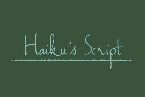 haikus-script-free-font