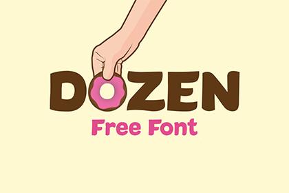 Dozen Free Font